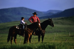 COWBOYS IN THE YAMPA VALLEY,STEAMBOAT COLORADO